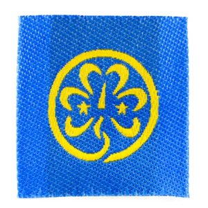 World Badge ribbon for neckers